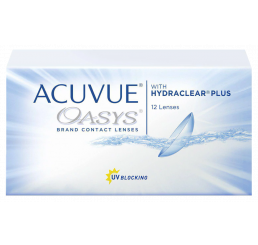 Acuvue Oasys contact lenses (12 lenses)