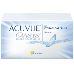 Acuvue Oasys contact lenses (24 lenses)